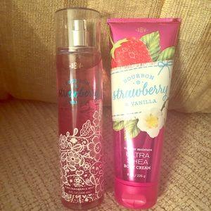 B & BW Bourbon Strawberry & Vanilla